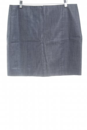 COS Pencil Skirt dark grey-silver-colored flecked business style