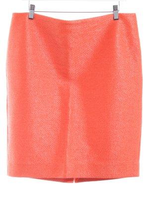 COS Bleistiftrock orange Business-Look