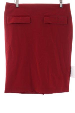 COS Bleistiftrock rot klassischer Stil