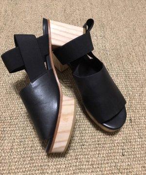 COS Platform Sandals black-light brown