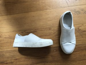 COS Blogger Echtleder Leder Sneaker 36 37 weiß