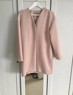 COS Oversized Coat dusky pink
