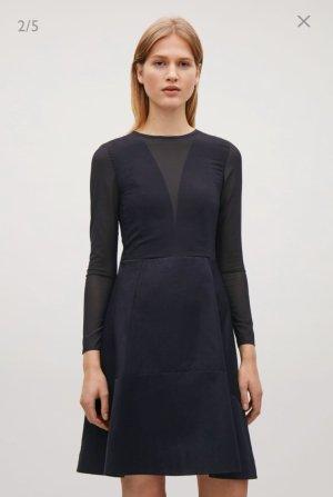 Cos Blogger transparent lace Kleid Dress XS 32 34