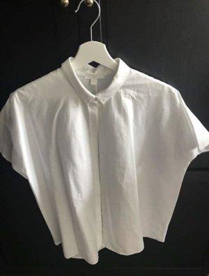 COS Camicia a maniche corte bianco