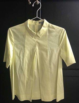 COS Camisa de manga corta amarillo