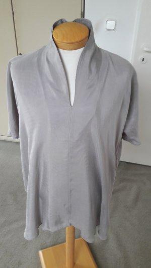 COS Slip-over blouse lichtgrijs-grijs