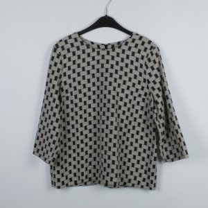 COS Bluse Gr. 42 grau schwarz