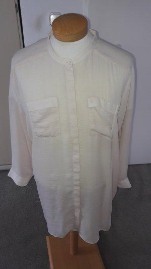 COS Long Sleeve Blouse cream mixture fibre