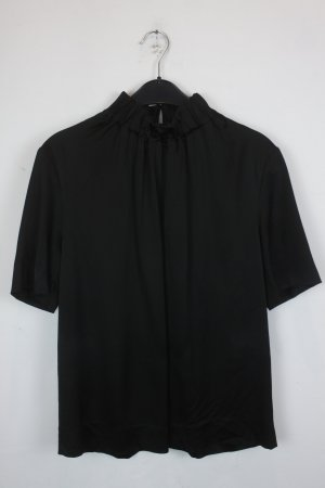 COS Blusen Shirt Gr. 38 schwarz silky (18/5/410)