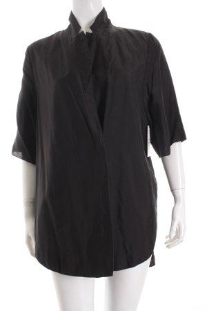 COS Blusenjacke schwarz minimalistischer Stil