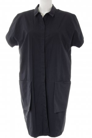 COS Blusenkleid dunkelblau Elegant