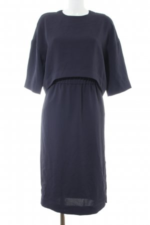 COS Blusenkleid blau Business-Look
