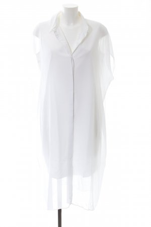 COS Vestido camisero blanco look casual