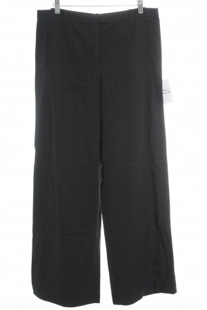 COS Pleated Trousers dark blue business style