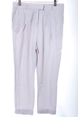 COS Pantalon à pinces gris clair style décontracté