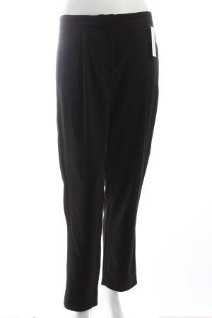 Cos Bundfaltenhose schwarz klassischer Stil