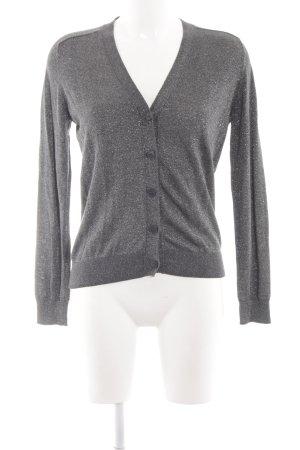COS Cardigan gris clair style mouillé