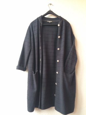 COS Knitted Cardigan dark blue-slate-gray
