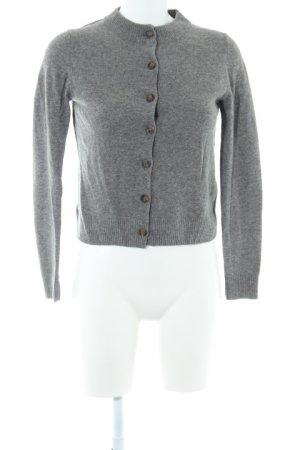 COS Cardigan dunkelgrau-grau Casual-Look