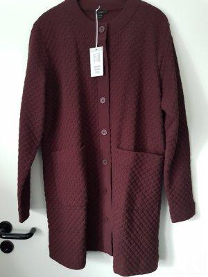 COS Outdoor Jacket bordeaux mixture fibre
