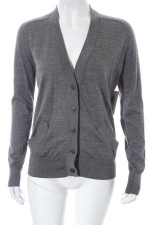 COS Cardigan grau schlichter Stil
