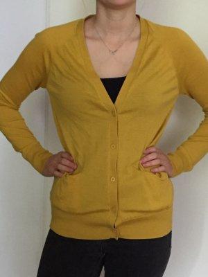 COS cardigan trendfarbe gelb