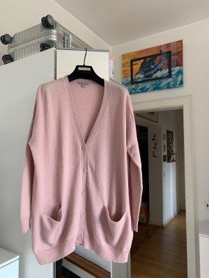COS Cardigan in maglia rosa antico