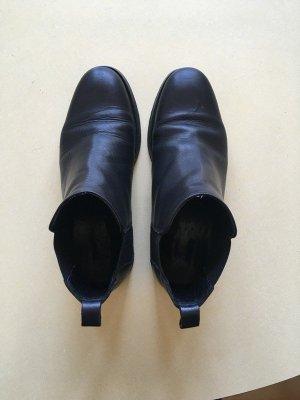 COS Chelsea Boots Leder Größe 36 schwarz