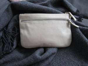 COS Clutch creme Leder TOP
