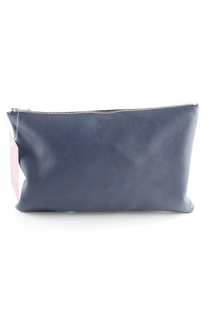 COS Clutch dunkelblau Casual-Look