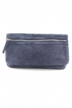 COS Clutch dunkelblau Party-Look
