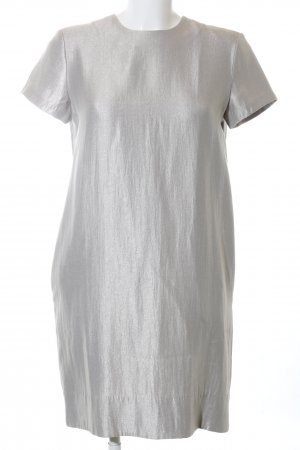 COS Cocktail Dress silver-colored elegant