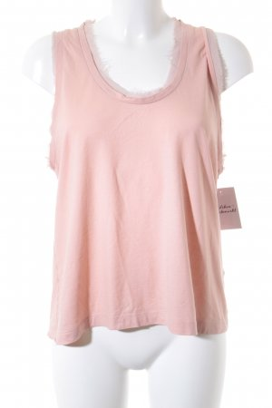COS Cropped Top apricot Beach-Look