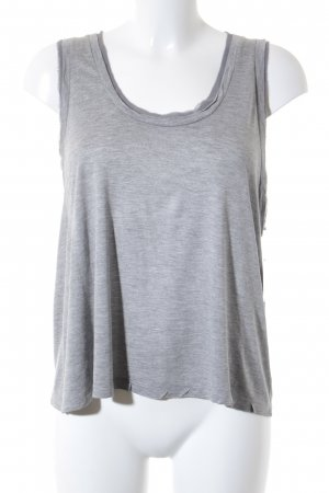 COS Crop-top gris clair Look de plage