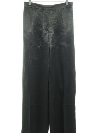 COS Falda pantalón de pernera ancha verde bosque elegante