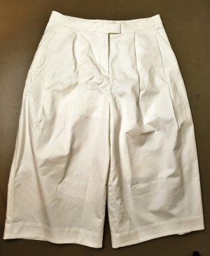 COS Pantalone culotte bianco Cotone