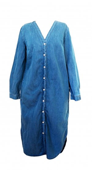 Cos Denim Blogger Oversized Kleid Hemd XS 32 34