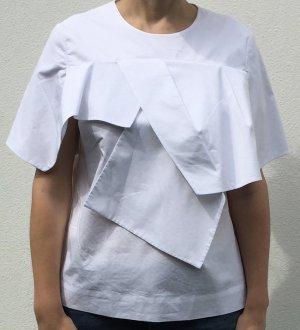 COS drapierte Lagen-Bluse Gr. 40
