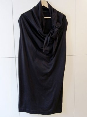 COS drapiertes T-Shirtkleid Gr. M, aubergine