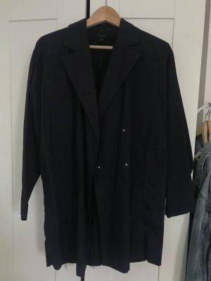 Cos dunkelblau mantel jacke