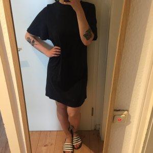 Cos dunkelblaues Baumwoll Kleid Tunika