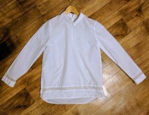 COS Chemise à manches longues blanc coton