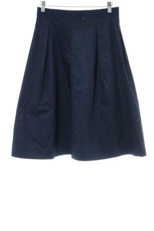 COS Plaid Skirt dark blue street-fashion look
