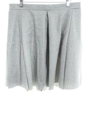 COS Plaid Skirt light grey casual look