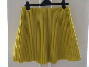 COS Faltenrock in schönem gelb Gr. 36