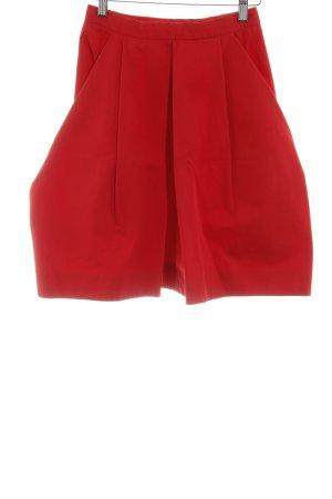 COS Falda acampanada rojo elegante