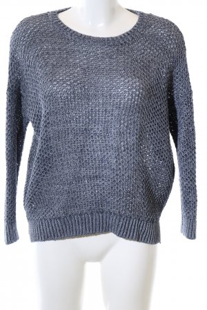 COS Coarse Knitted Sweater blue casual look