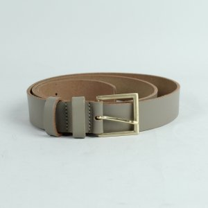 COS Faux Leather Belt grey-light grey