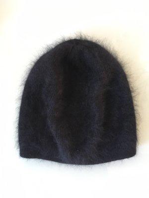 COS Chapeau en laine noir laine angora