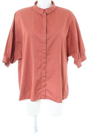COS Blouse-chemisier orange clair style d'affaires